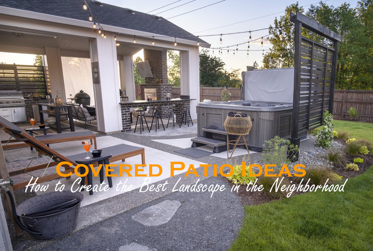 Covered Patio Ideas Paradise Restored Landscaping