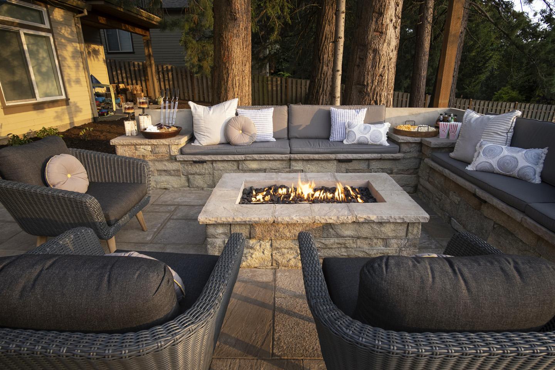 Staycation Backyard