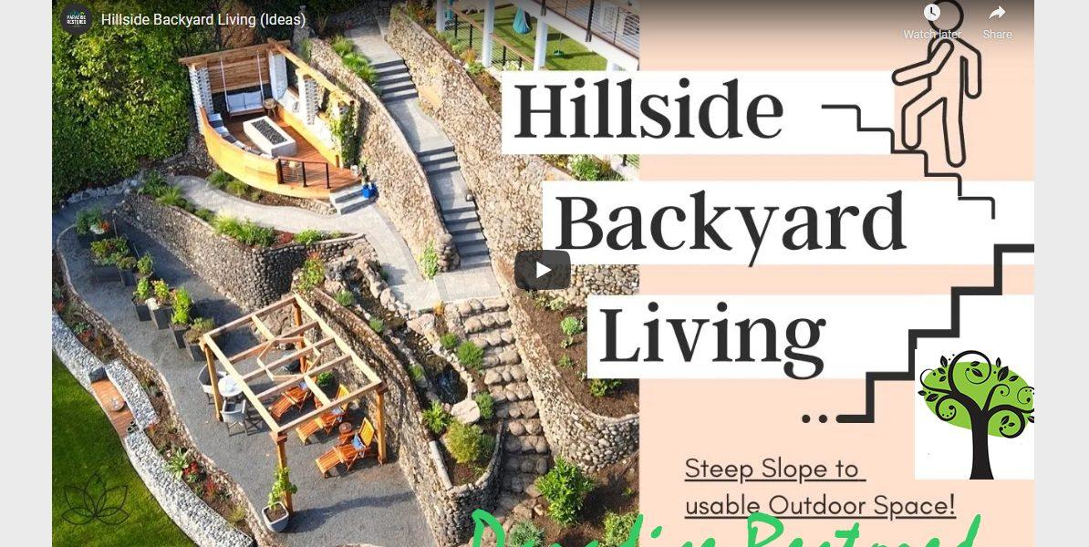 Hillside Landscape Design Archives Paradise Restored Landscaping